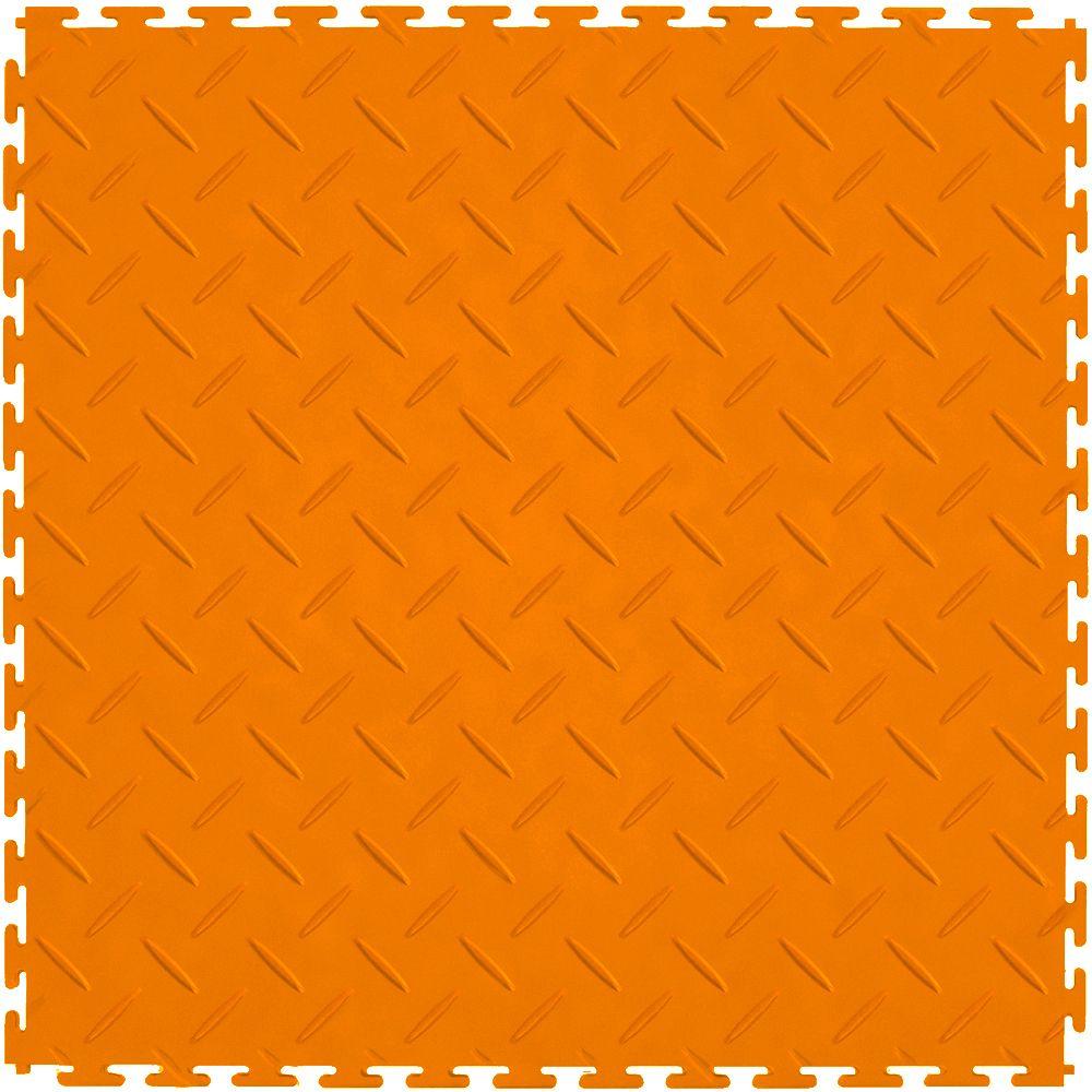 """Perfection Floor Tile Diamond Pattern 20.5"""" x 20.5"""" x 4"""