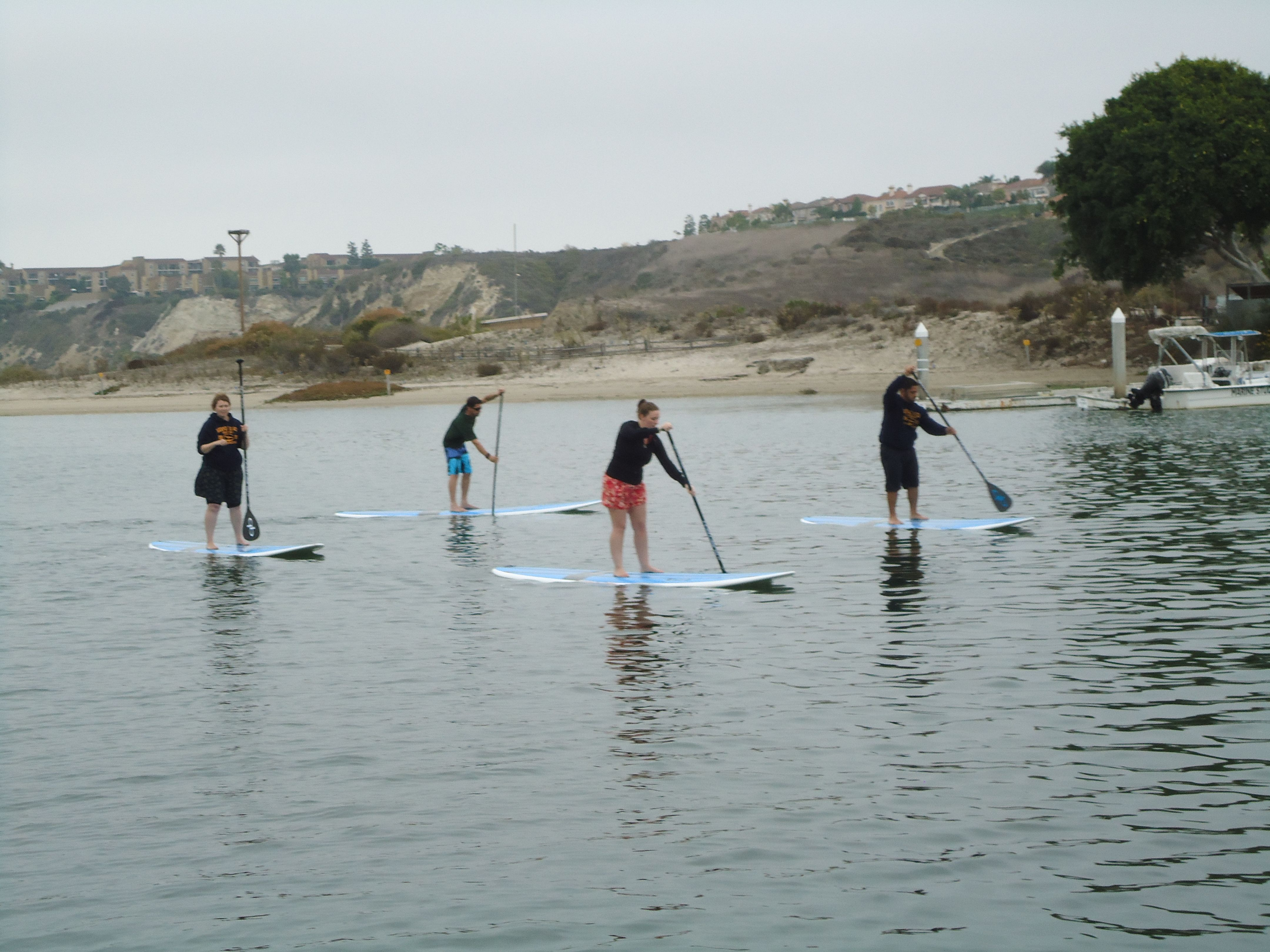 Stand Up Paddle Boarding Newport Beach California