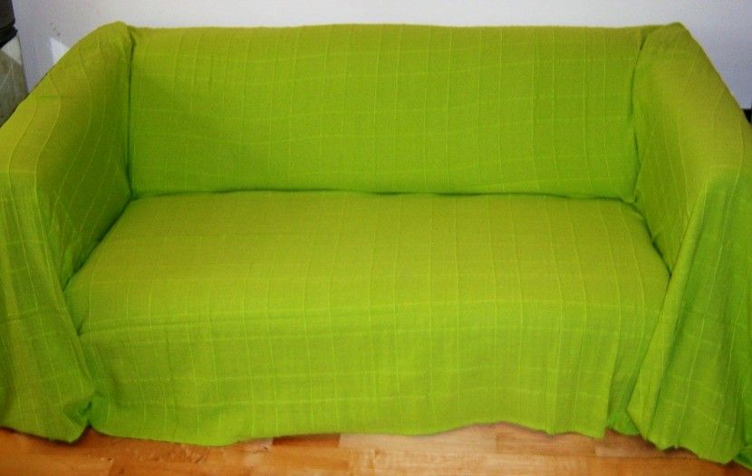 Lime Green Sofa Throw For Living Room