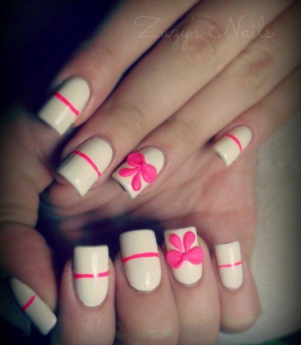 50+ Cute Bow Nail Designs | Bow nail art, Bow nail designs and Makeup