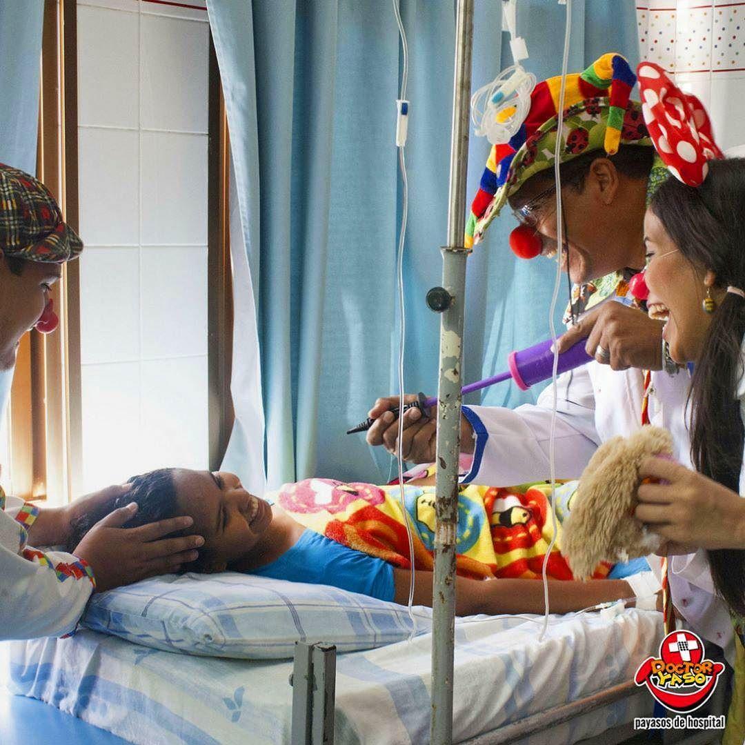 #Repost vía @doctoryaso. - Comencemos la semana llenos de #alegría. Dejemos una estela de #amor a nuestro paso el mundo lo necesita!  #DoctorYaso #PayasosDeHospital #TodoPorUnaSonrisa #Clowns #HospitalClowns #Smile #Venezuela #Panamá #RepúblicaDominicana #Miami