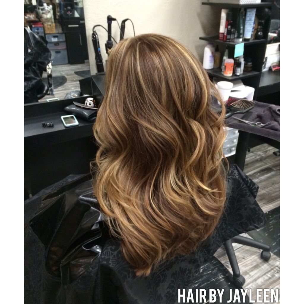 Highlights Soft Brown Hair Color Hair By Jayleen The Hot Seat