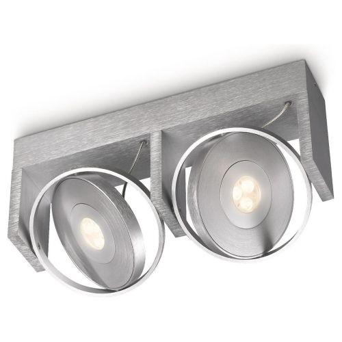 Hochwertiger Philips Vision LED Spot Aluminium 2-flammig Küche - deckenleuchte küche led