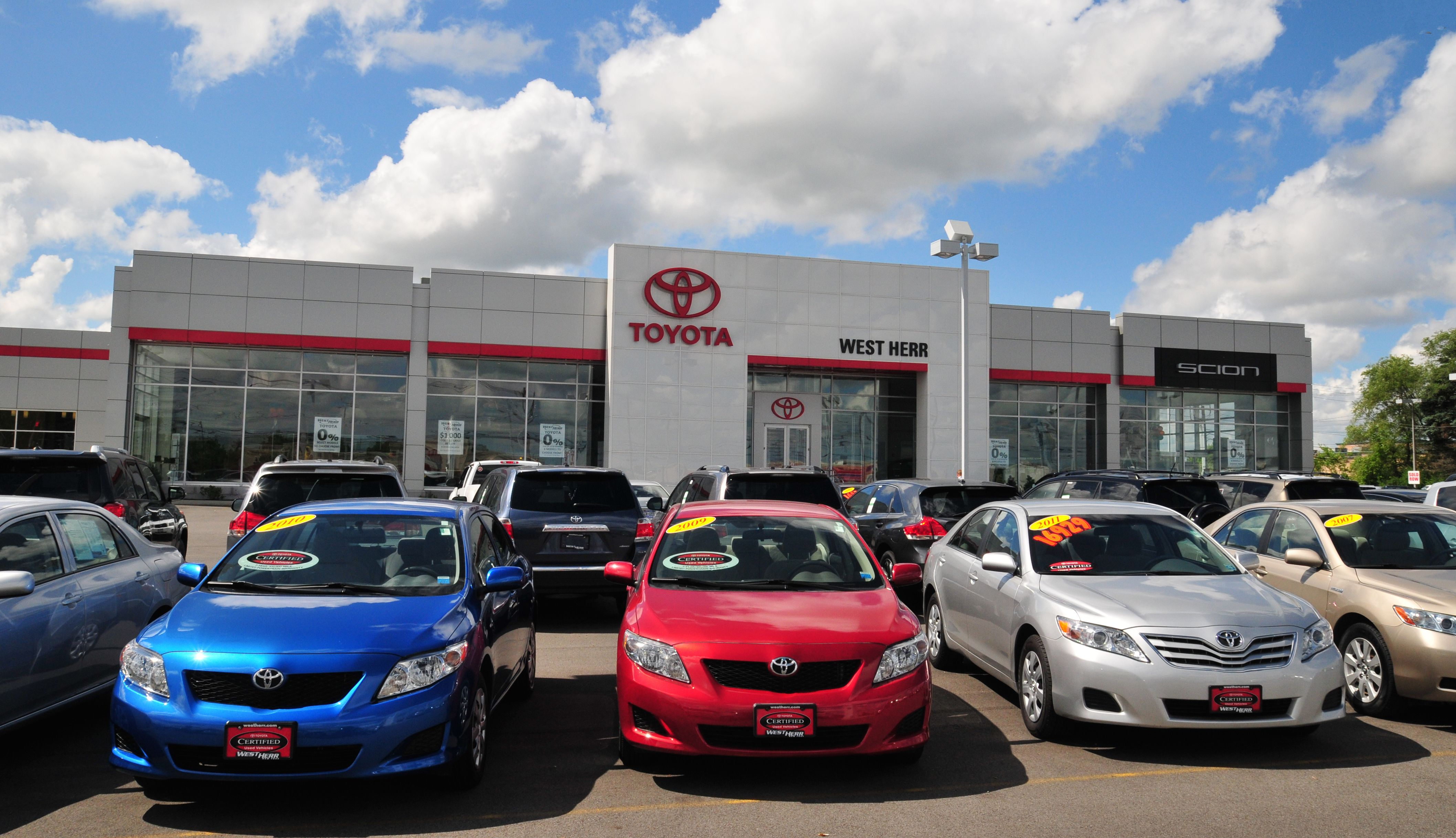 West Herr Used Cars >> West Herr Toyota Toyota Toyota Toyota Dealers Y Scion