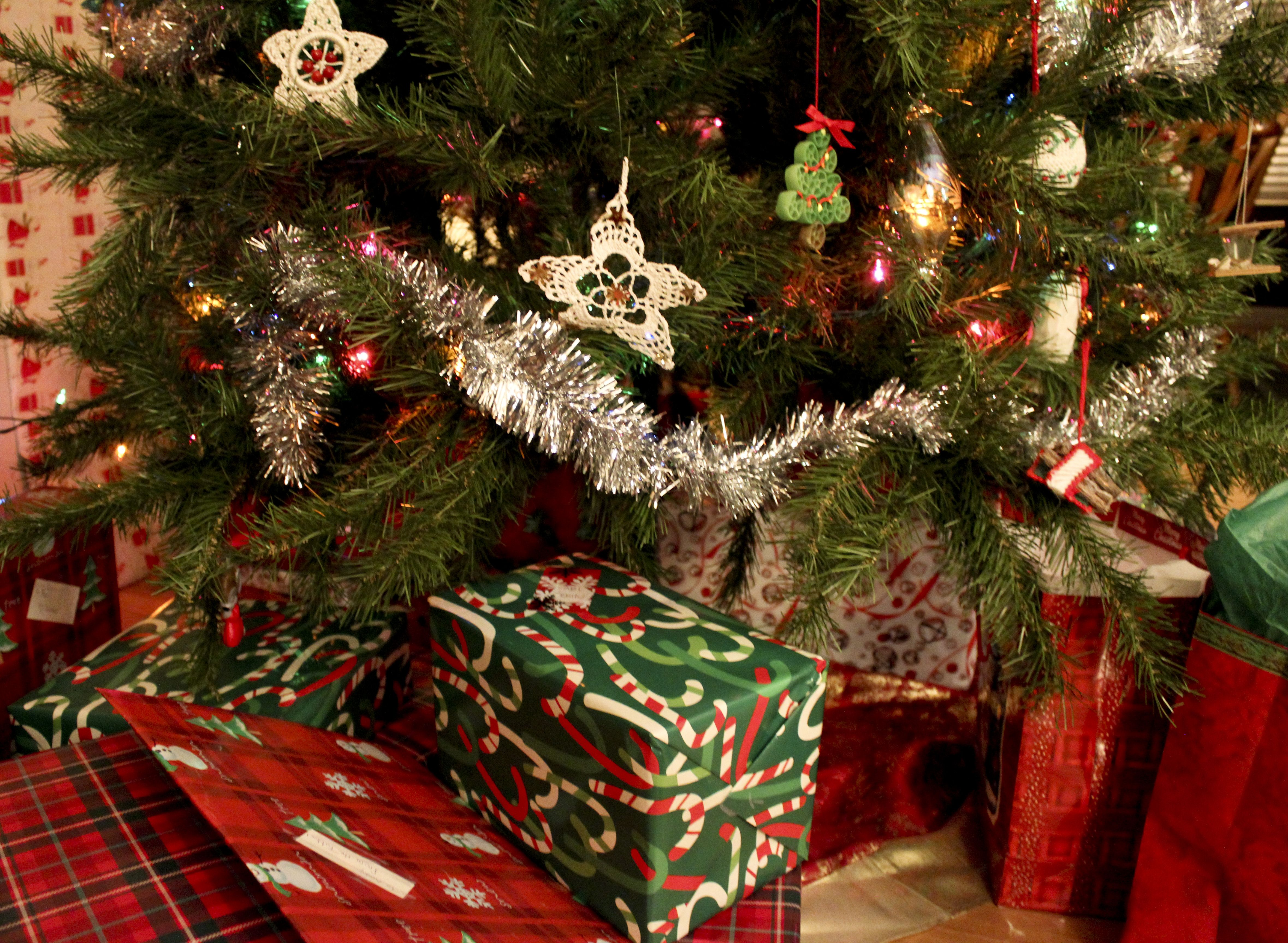 christmas presents under the tree Presents Under the Tree