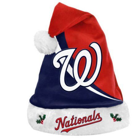 Forever Collectibles MLB Swoop Logo Santa Hat, Gray   Pinterest dfbb01d9778