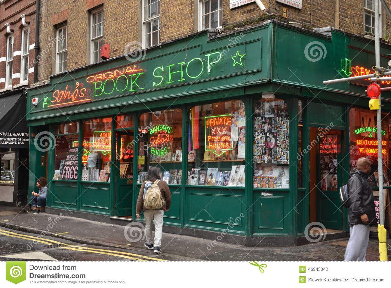 порно в магазине в лондоне