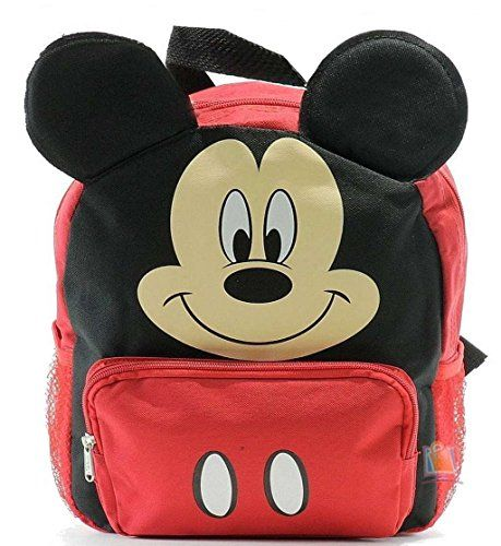 aa361bf7f9b New Mickey Mouse Club House 3D Ears Small Toddler Backpack-8680 ...