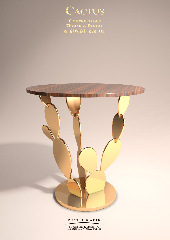 cactus table designer monzer hammoud pont des arts studio paris