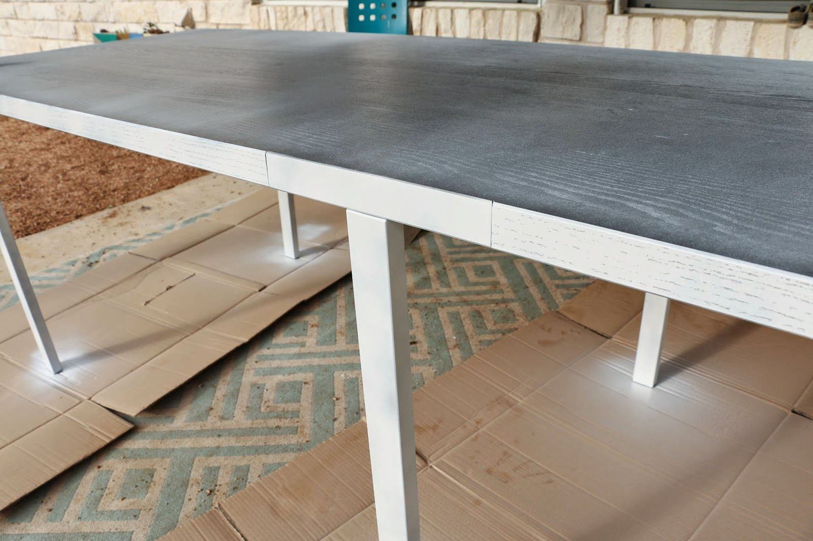 A $60 Mid Century Modern Ikea Dining Table Hack