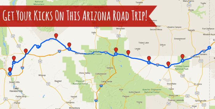 Where This Awesome Arizona Weekend Road Trip Will Take You Is