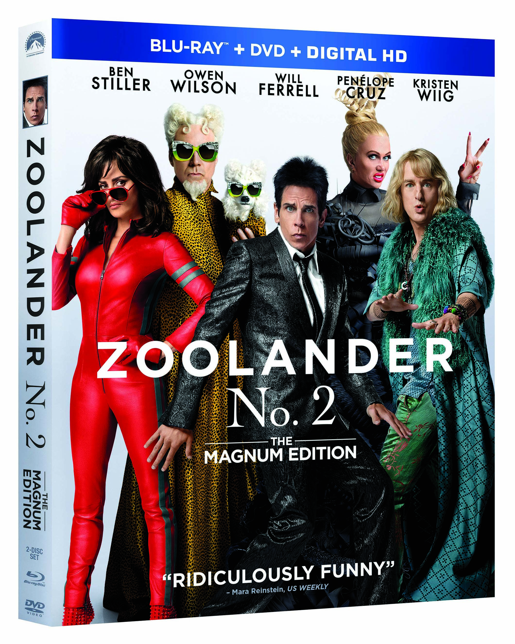 GIVEAWAY: Zoolander No. 2 on Blu-ray/DVD combo - http://thisbirdsday.com/giveaway-zoolander-no-2/ #CanWin