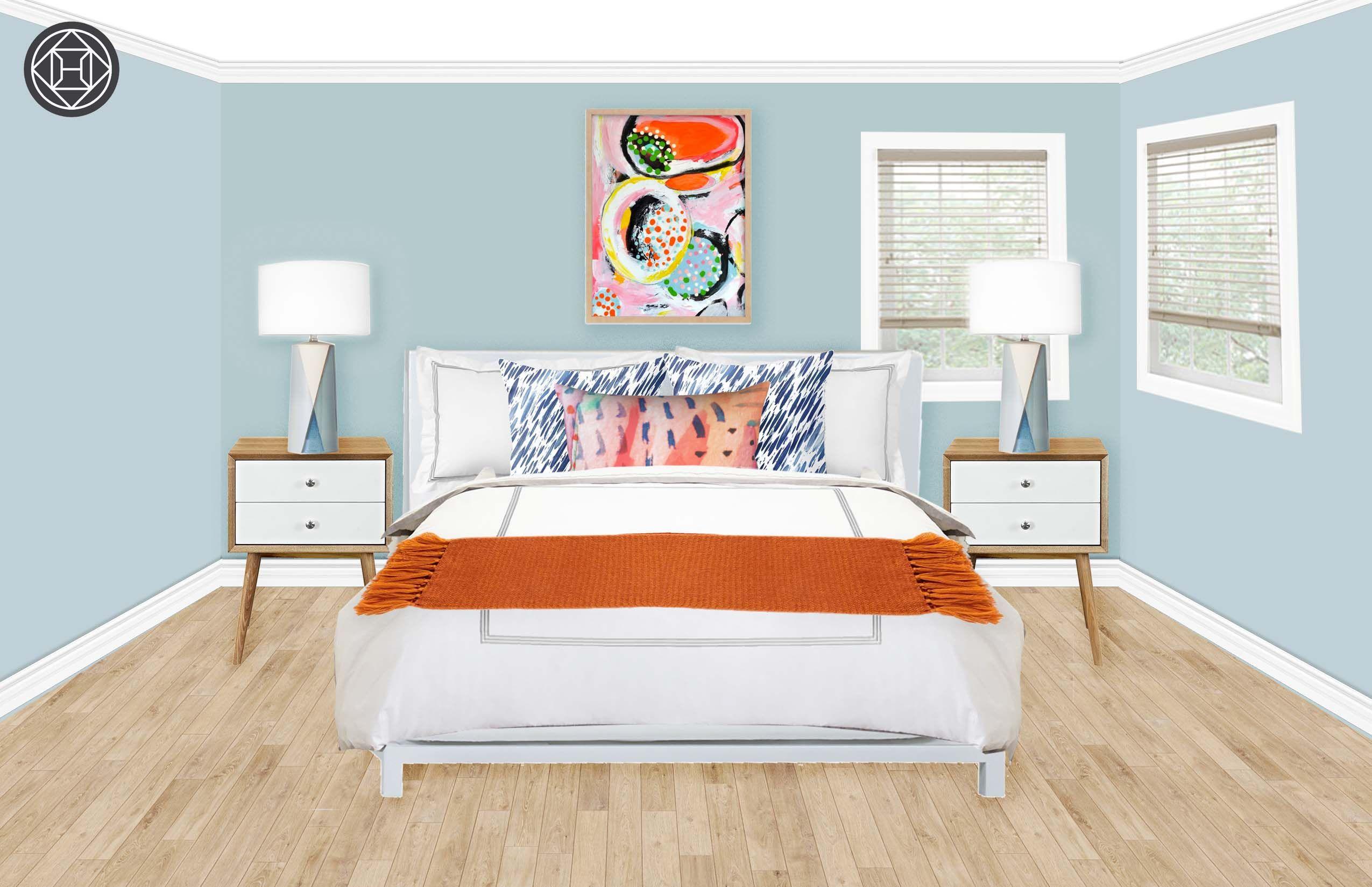 Online Bedroom Designer Contemporary Midcentury Modern Bedroom Designhavenly Interior
