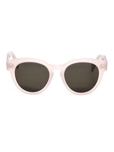 51ff08d543a Celine Pearly Round Sunglasses