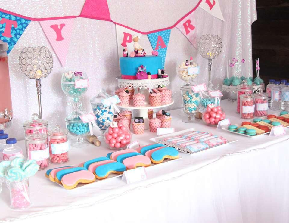 Spa Party Ideas For Little Girls Spa Party Pinterest Spa Party Spa Bir