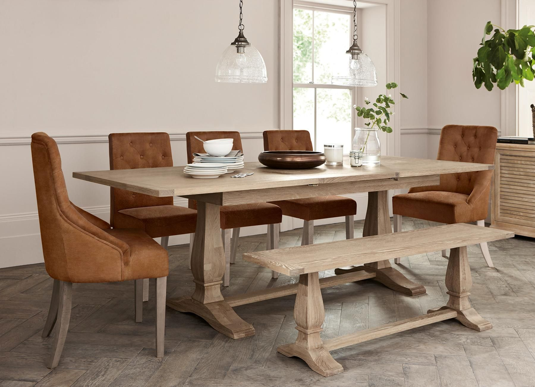 Buy Hardwick 6 10 Seater Extending Dining Table From The Next Uk