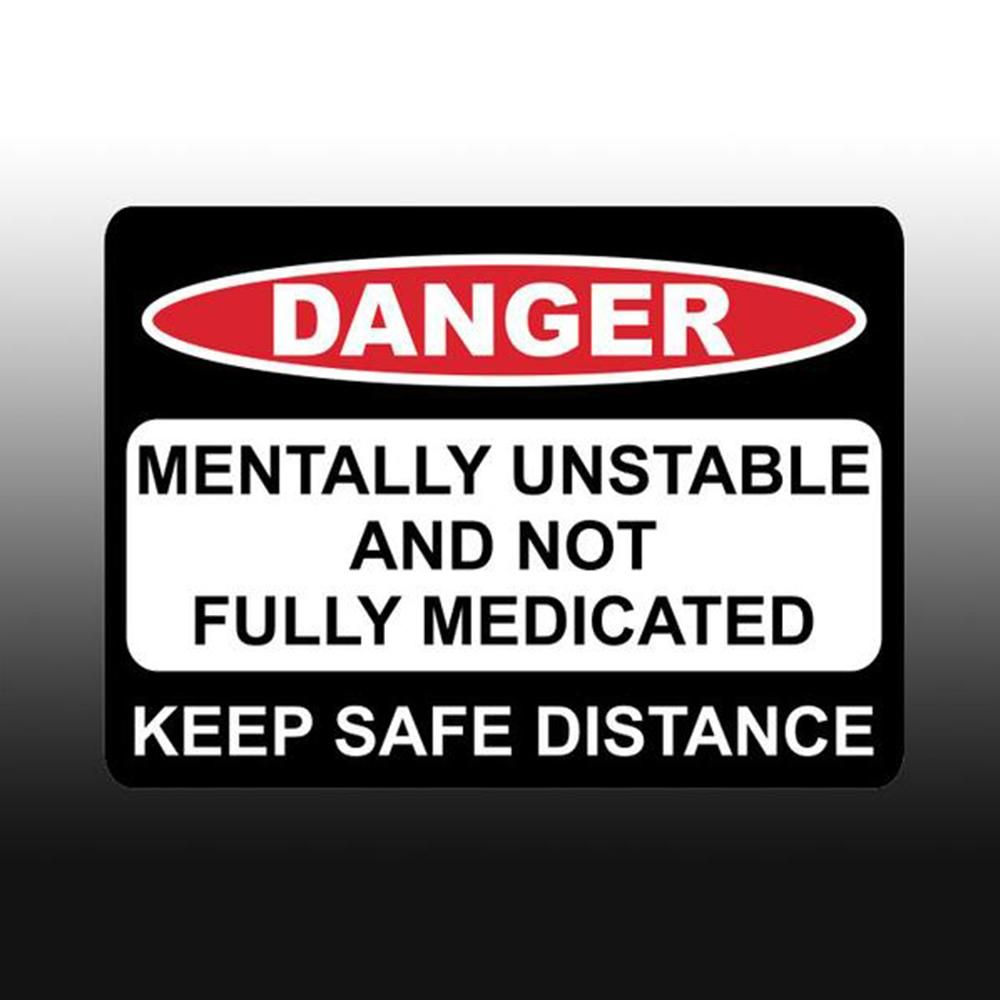Danger I did All of The Welding on This Vehicle Funny Car Truck Decal Sticker SC