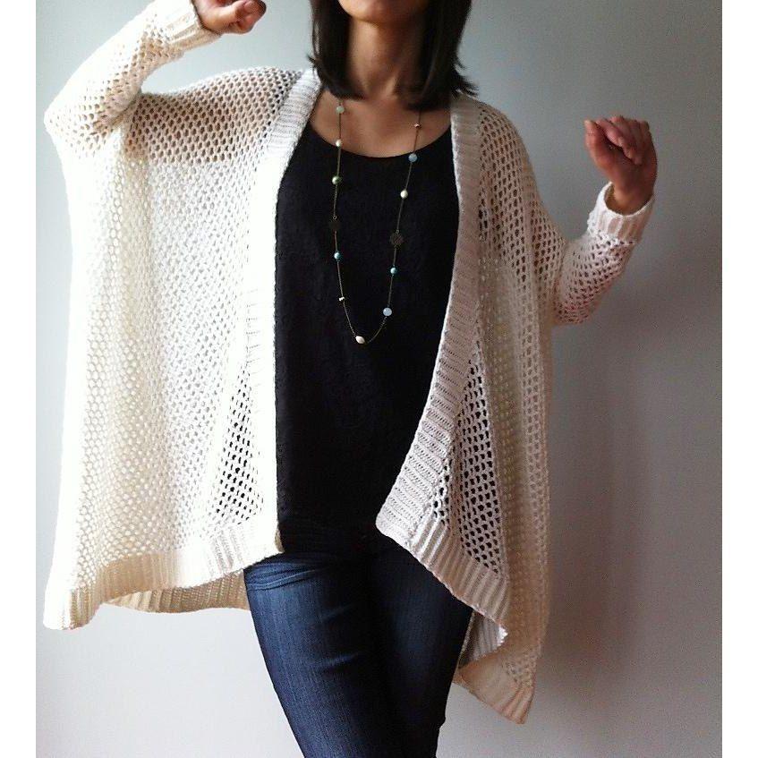 64e59d159710a7 Angela - easy trendy cardigan (crochet) Crochet pattern by Vicky Chan  Designs