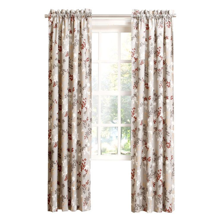 Lovely Oatmeal Leyna Pole Top Curtains 84 in Top Search - Model Of Beige Curtains Plan