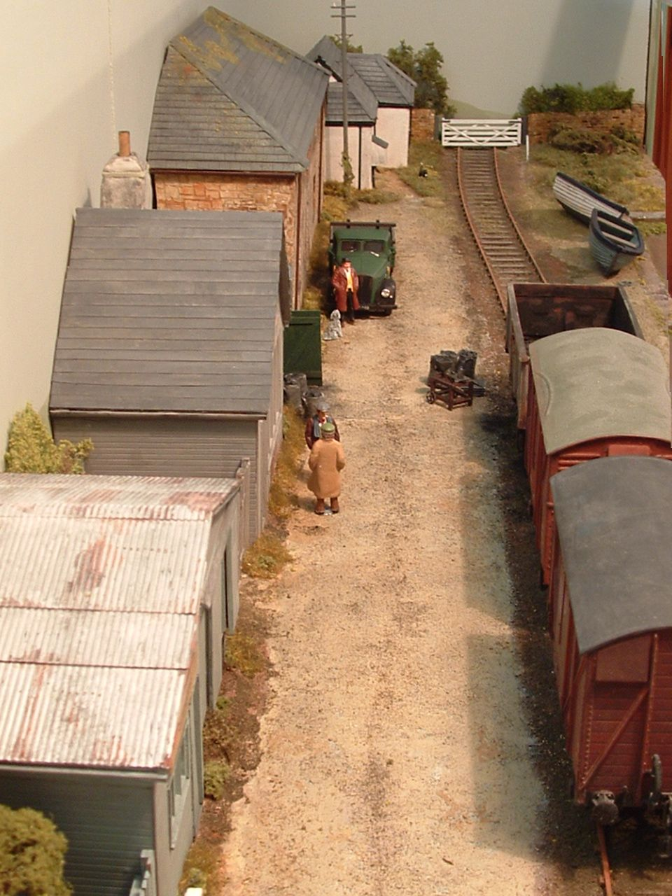 Osney Town Ii And Other 0 Gauge Micro Layouts Layout Topics Model Trains Model Train Scenery Model Train Layouts