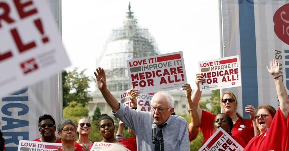 Sanders Opposes FDA Chief Nominee Over Ties to 'Greedy
