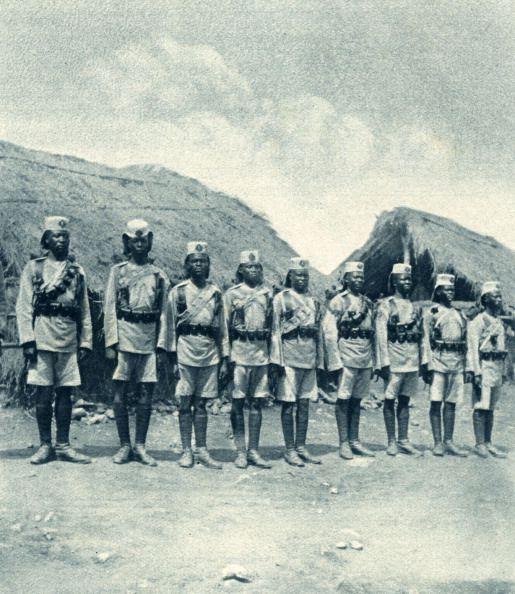 King 's African Rifles During World War 1 1916