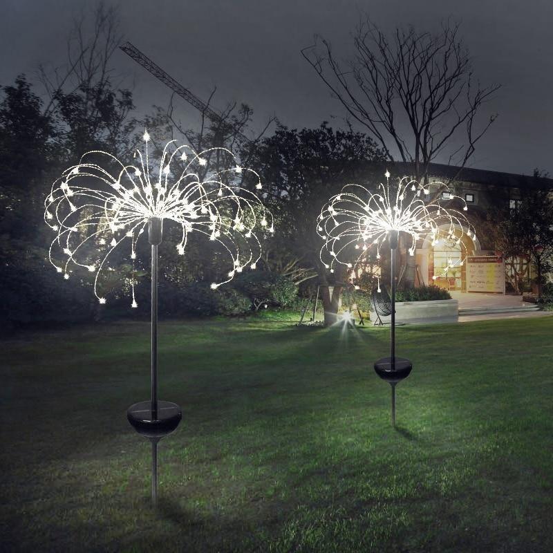 Led Solar Dandelion Lights In 2020 Solar Lights Garden Solar Lawn Lights Lawn Lights