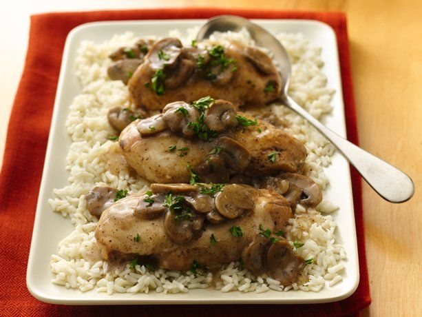 Crockpot Chicken Marsala - Betty Crocker