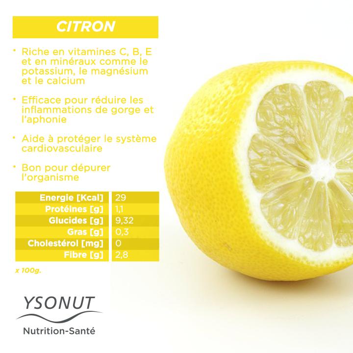 Le #citron est efficace pour combattre les #rhumes si