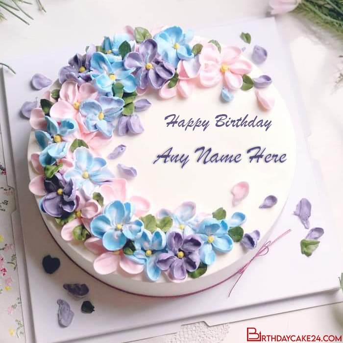Pin On Birthday Cake With Name Edit
