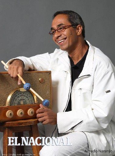 Alfredo Naranjo, vibrafonista. Caracas, 09-09-2009. (CLAUDIA RODRIGUEZ / EL NACIONAL). ID: 555724
