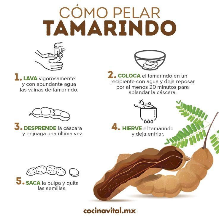 Cómo Pelar Tamarindo Fácil Y Rápido Cocina Vital Qué Cocinar Hoy Tamarindo Dulces De Tamarindo Recetas De Comida Fáciles