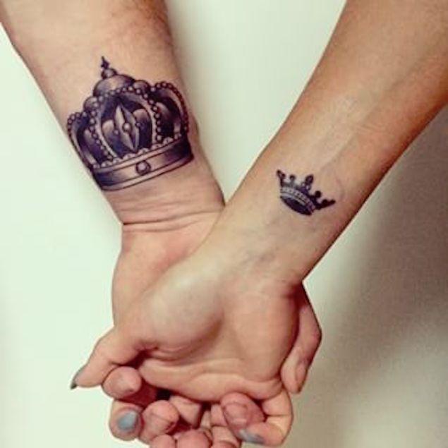 Crown wrist tattoos for men - photo#13