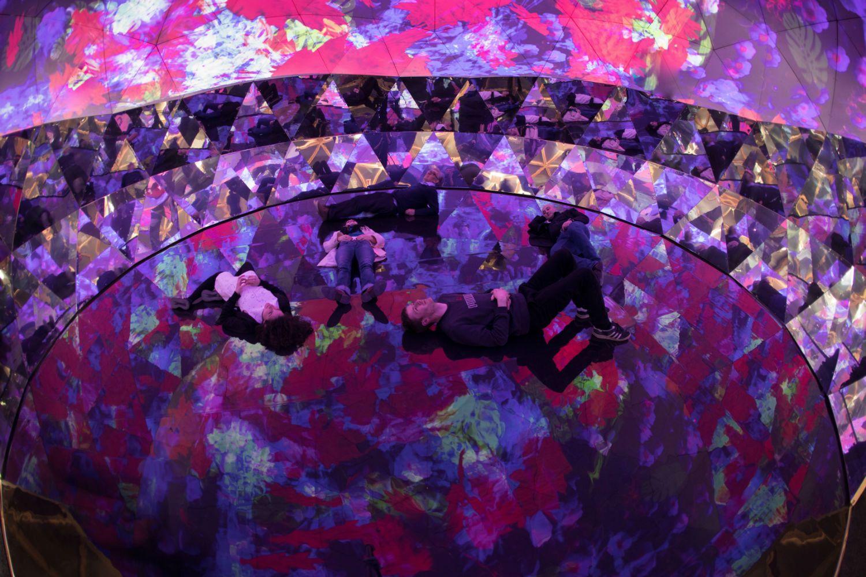 experience a 360-degree multi-sensory virtual garden | gardens