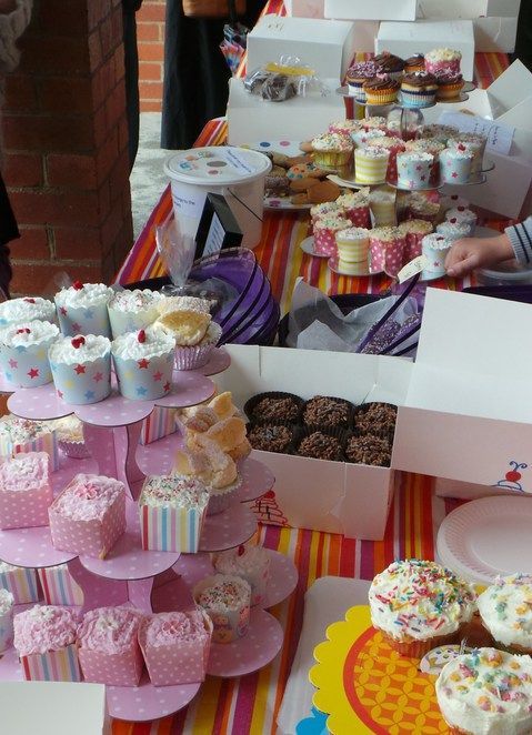 Top Tips For Running A Cake Stall With Images Cake Stall Bake