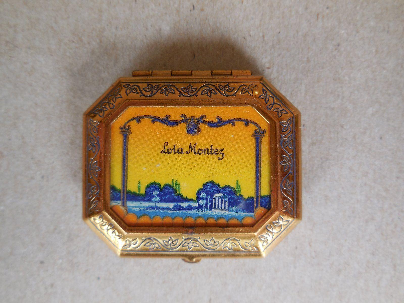 Lola Montez 1920's Compact by Darnee Perfumer New York