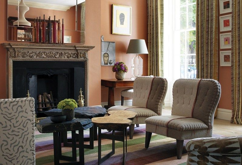 Drawing Room Of The Dorset Square Hotel Interior Design By Kit Kemp