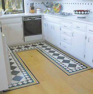 Charmant Custom Hand Or Digitally Painted Floor Mats Instead Of Rugs... LIKE!