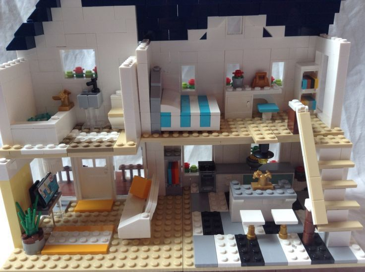 Extérieur moderne de la maison Lego (avec images) | Maison ...