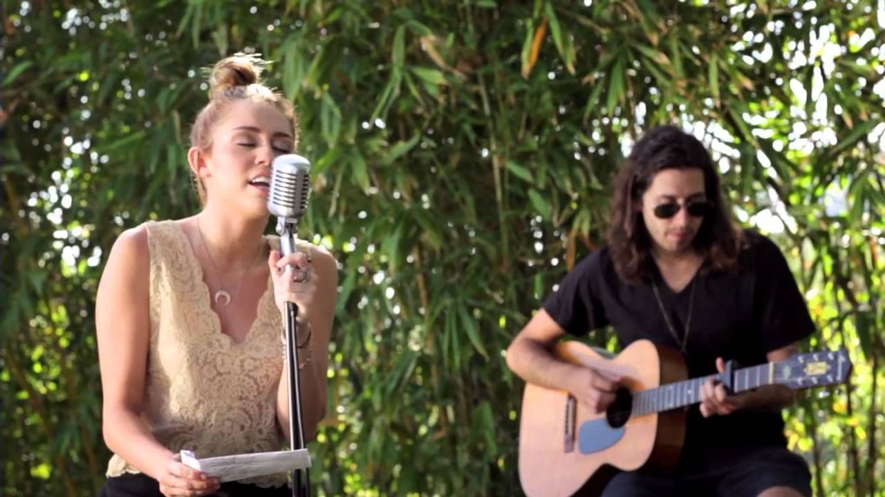 Miley Cyrus - The Backyard Sessions - Lilac Wine | Miley ...