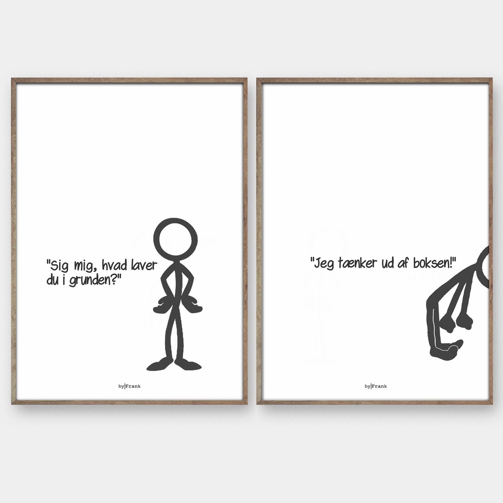 Stickmen Kreativ Plakat Sjoveste Citater Cool Citater Inspirerende Citater