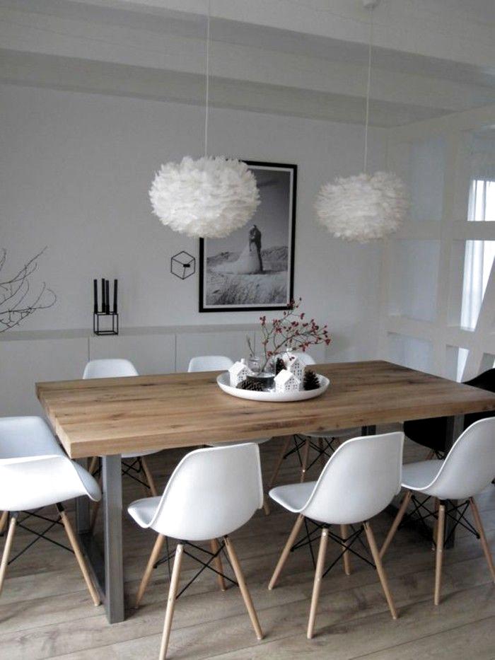 1001 Ideen Fur Esszimmer Deko Zum Faszinieren Kuchetisch Esstisch Deko Tablett Mit Vielen Kleinen Deko El Dining Room Design Dining Room Decor Room Decor