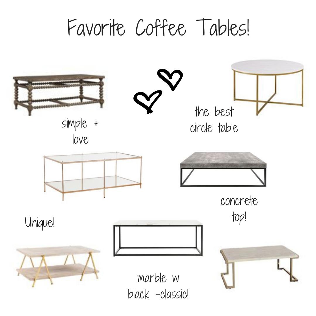 Favorite Coffee Tables Coffee Table Interior Design Furniture Interior Design [ 1080 x 1080 Pixel ]