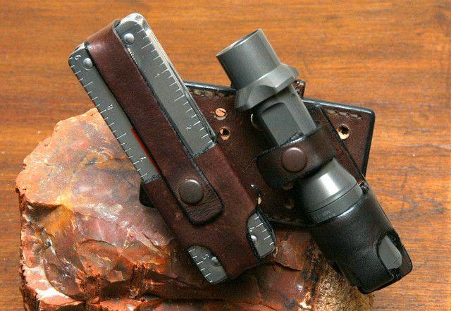 Universal EDC Leather Carry Method