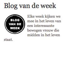 Mijn 2de blog voor De telegraaf staat online op VROUW.nl En ook op: http://www.esmir.nl/?p=1537