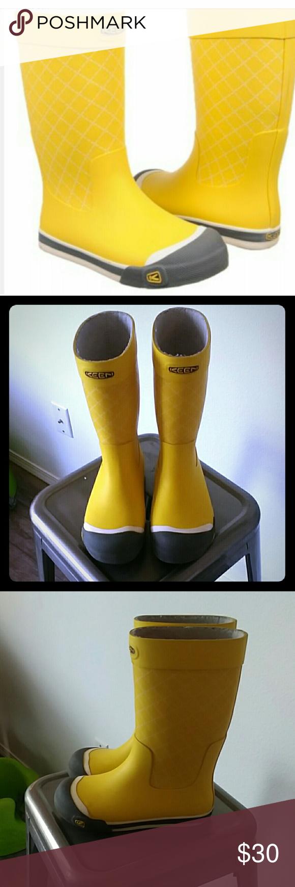 74b82d78b4ef Keen mimosa women s Coronado Rainboots Yellow Keen rain boots US size 5 In  good used condition
