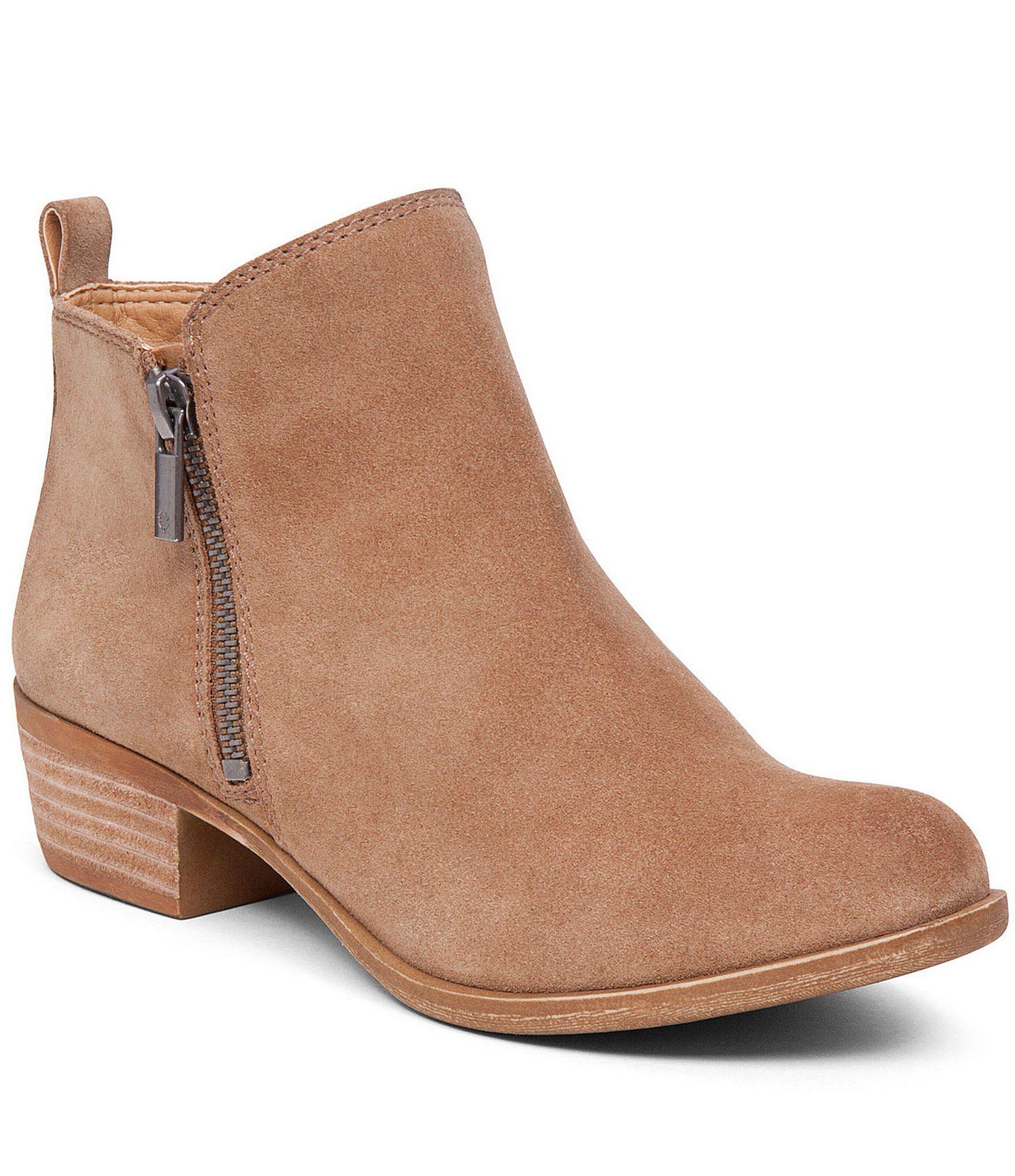 1c7b42721337 Kensie Ladies  Short Heel Suede Bootie