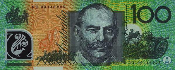 Australian 100 Dollar Bank Notes Dollar Banknote Dollar Note