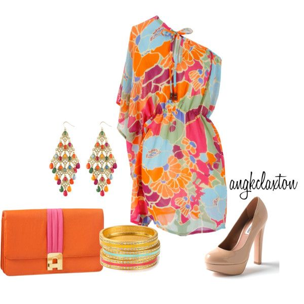 Spring, created by angkclaxton on Polyvore
