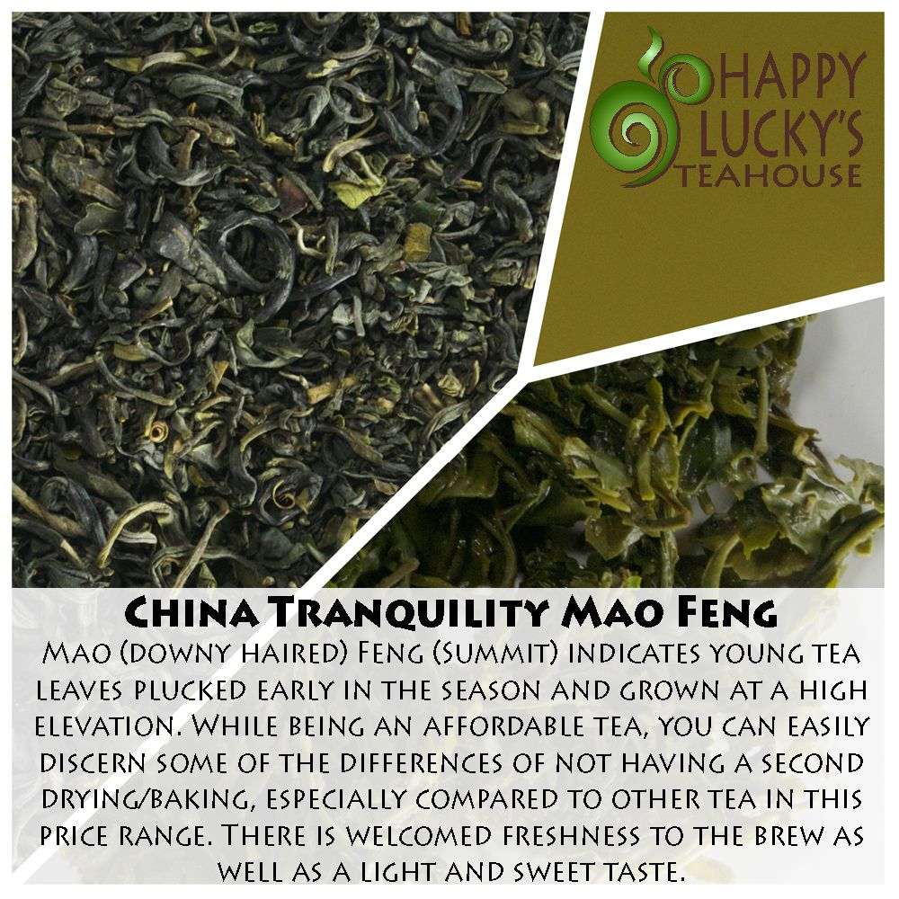 China tranquility mao feng how to dry basil tea leaves